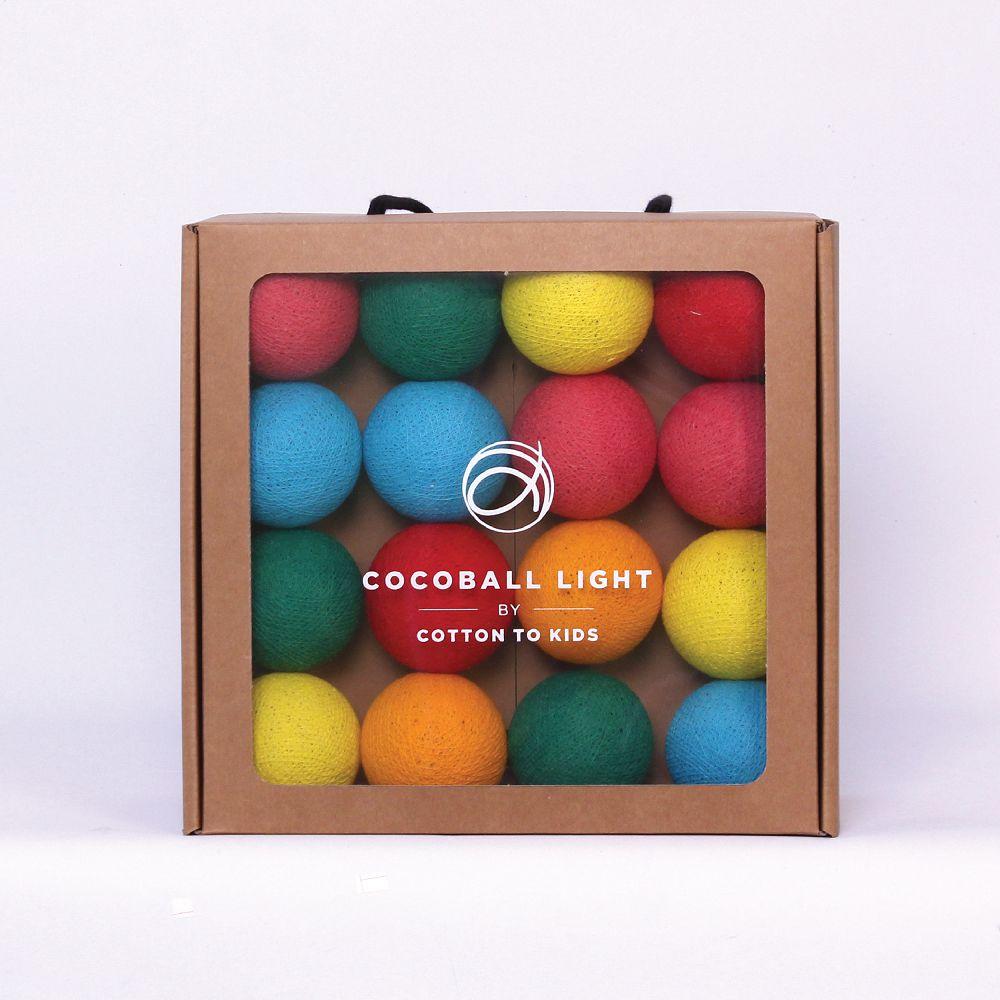 Cotton to Kids|Cocoball Light LED氣氛棉球燈串(lollipop)