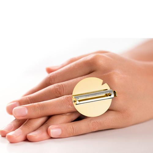 E-my|戒指式削皮刀+磨泥器組