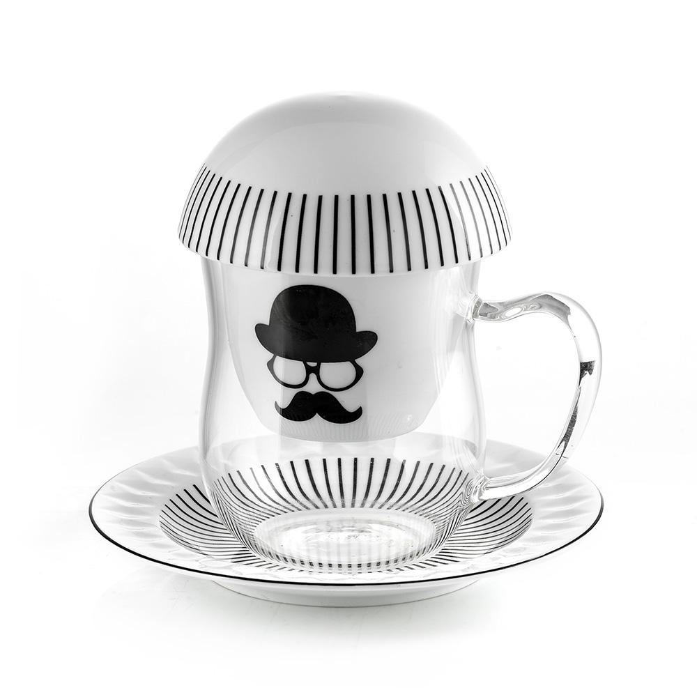 E-my|趣味默劇濾茶杯