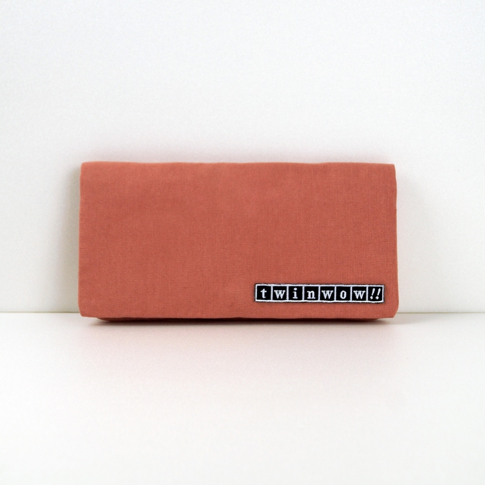 twinwow|優雅輕盈-細緻質感長夾/手拿包(裸色系)