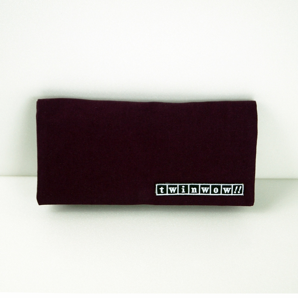 twinwow|優雅輕盈-細緻質感長夾/手拿包(紫羅蘭)