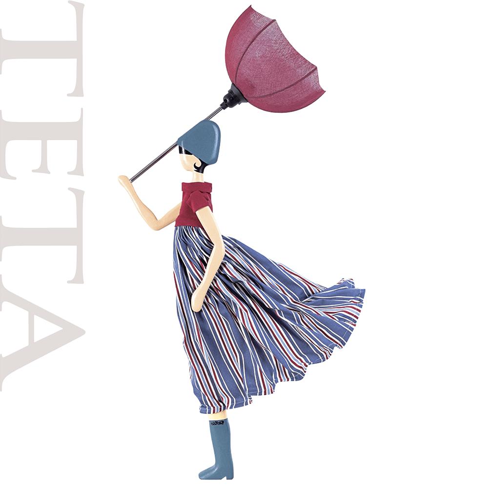 SKITSO|希臘女孩手工燈飾-TETA