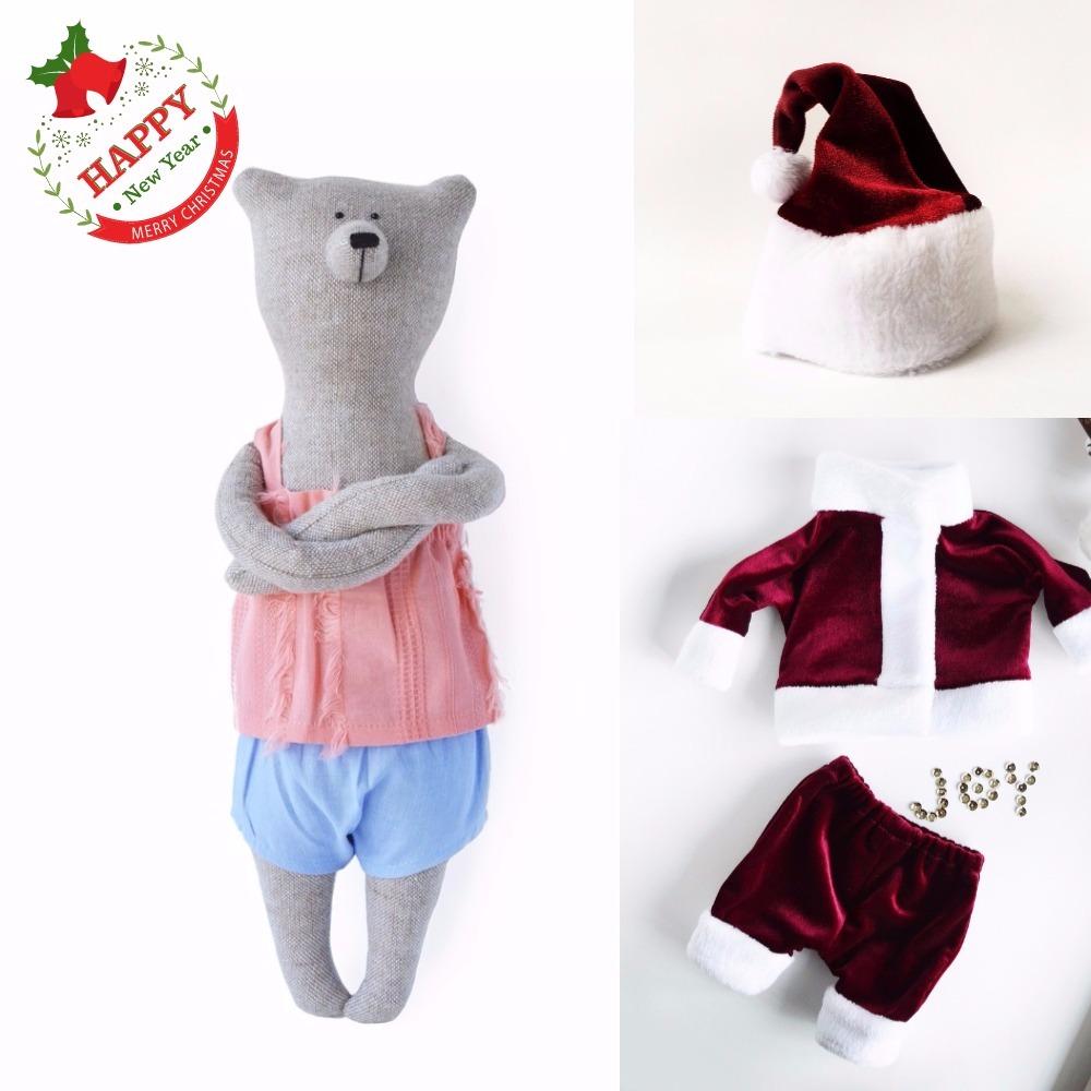 PK bears   艾蜜麗果醬熊耶誕禮物組( 熊40cm+耶誕裝)