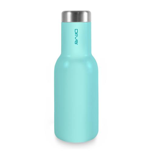Driver|時尚冷熱兩用保溫瓶380ml-淡藍色 (附贈kuso貼紙二選一)