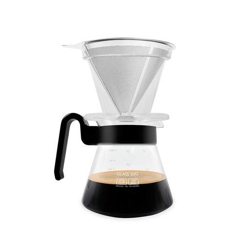 CUG 環保不銹鋼濾杯咖啡壺組
