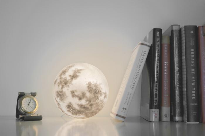 橡果藝術|LUNA Mini 月球燈 (8cm)