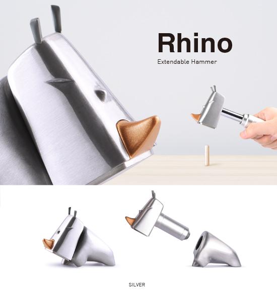 (複製)iThinking|犀牛鎚 Rhino Hammer (黑)