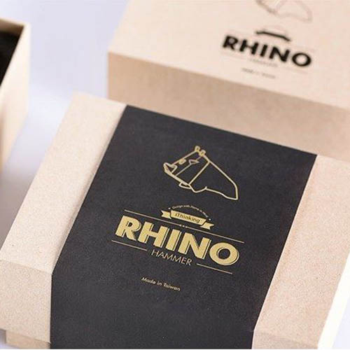 iThinking|犀牛鎚 Rhino Hammer (黑)