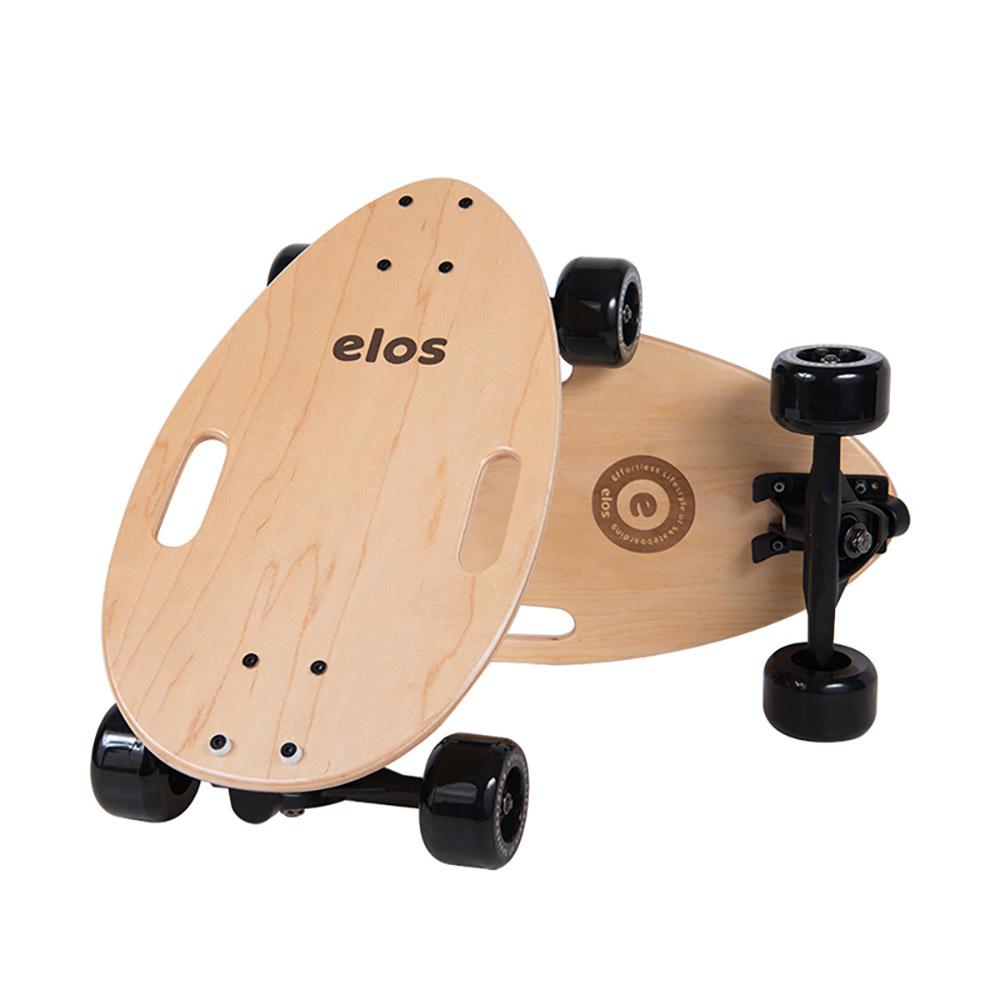 Elos Skateboards 經典都會滑板 (楓糖原木)
