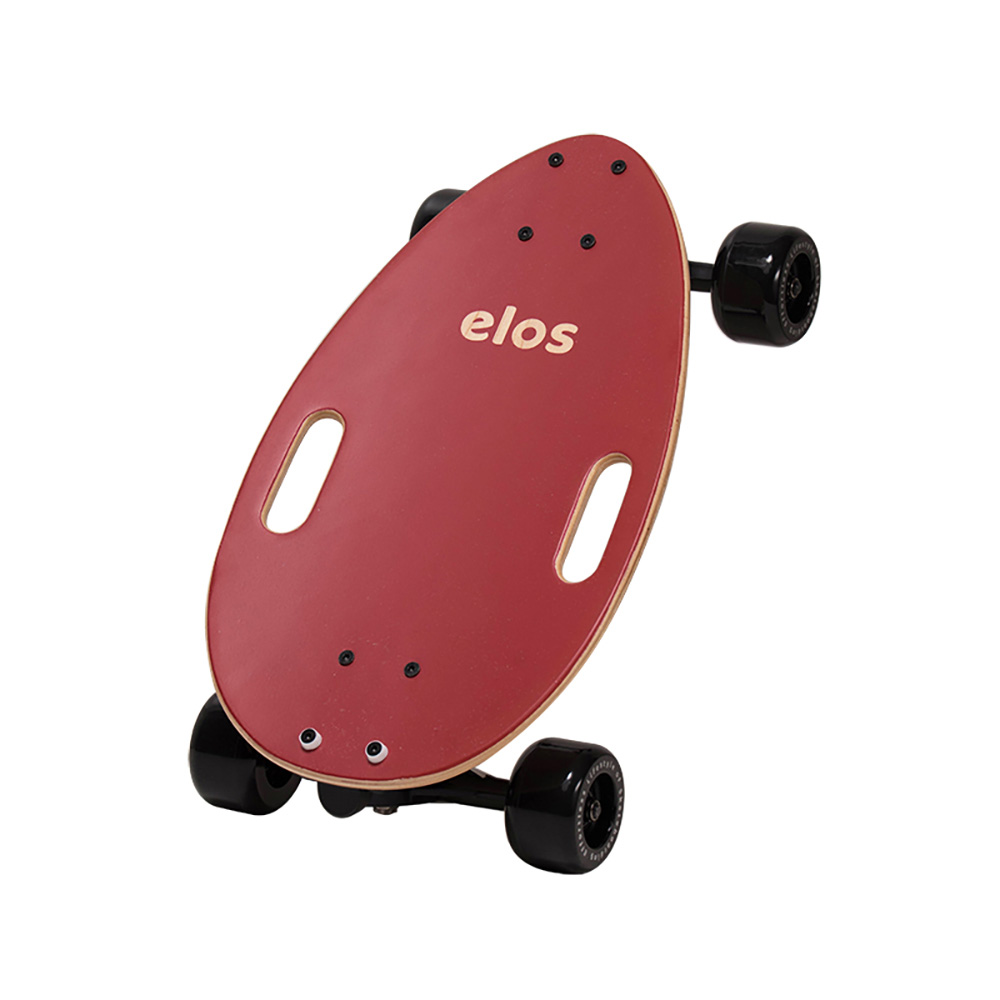 Elos Skateboards|經典都會滑板 (魔力紅)
