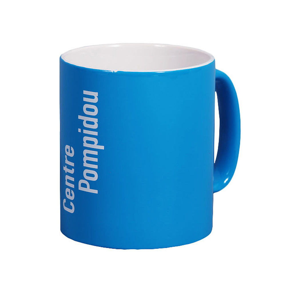 Centre Pompidou 馬克杯(藍色)