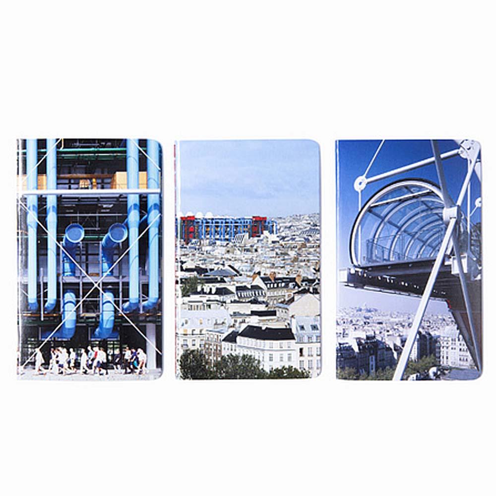 Centre Pompidou|隨身筆記本(3入)