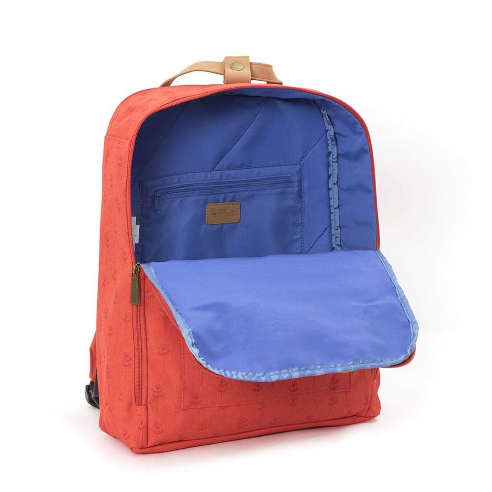 GOLLA | 北歐芬蘭時尚極簡後背包15.6吋 G1896-印花莓果紅