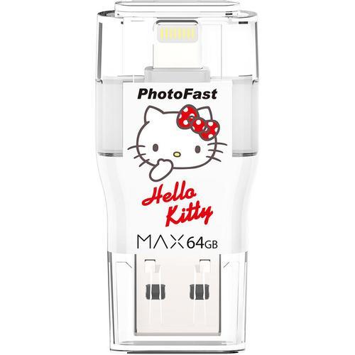 Photofast | i-FlashDrive MAX Hello Kitty 64GB USB 3.0Apple隨身碟