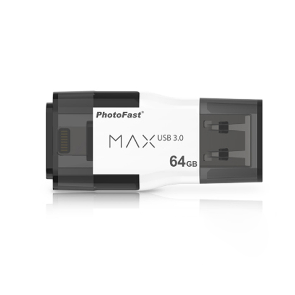 Photofast | i-FlashDrive MAX GEN2 3.0 雙頭龍 64GB Apple隨身碟