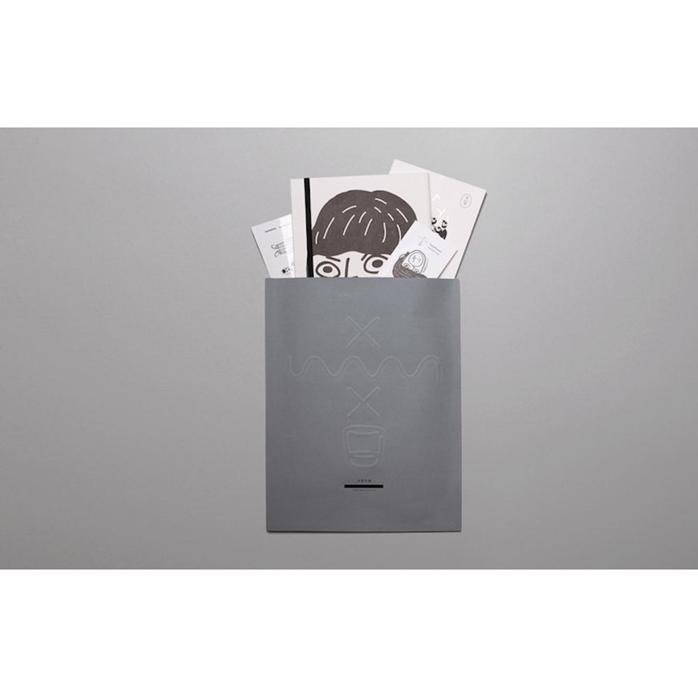 不平不滿|筆記本、便利貼組合包