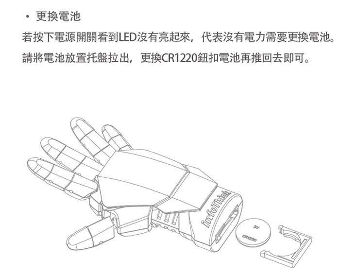 InfoThink 鋼鐵人手盔甲遙控自拍器X自拍桿組