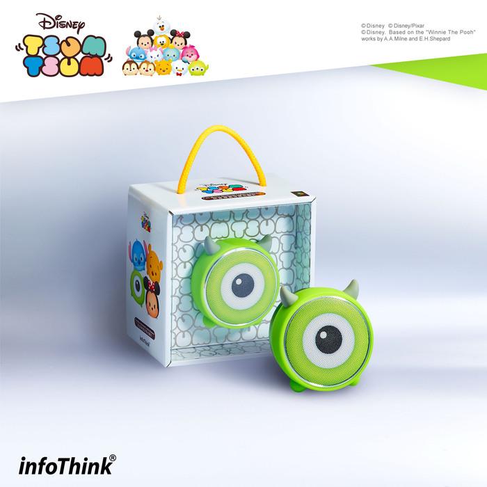 (複製)InfoThink|TSUM TSUM玩音樂藍牙燈光喇叭- 米妮Minnie