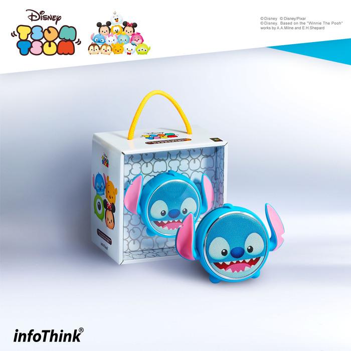 InfoThink|TSUM TSUM玩音樂藍牙燈光喇叭- 史迪奇Stitch