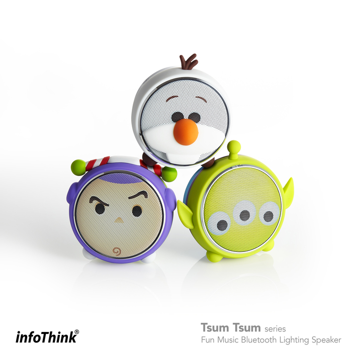 InfoThink|TSUM TSUM玩音樂藍牙燈光喇叭- 三眼怪Aliens