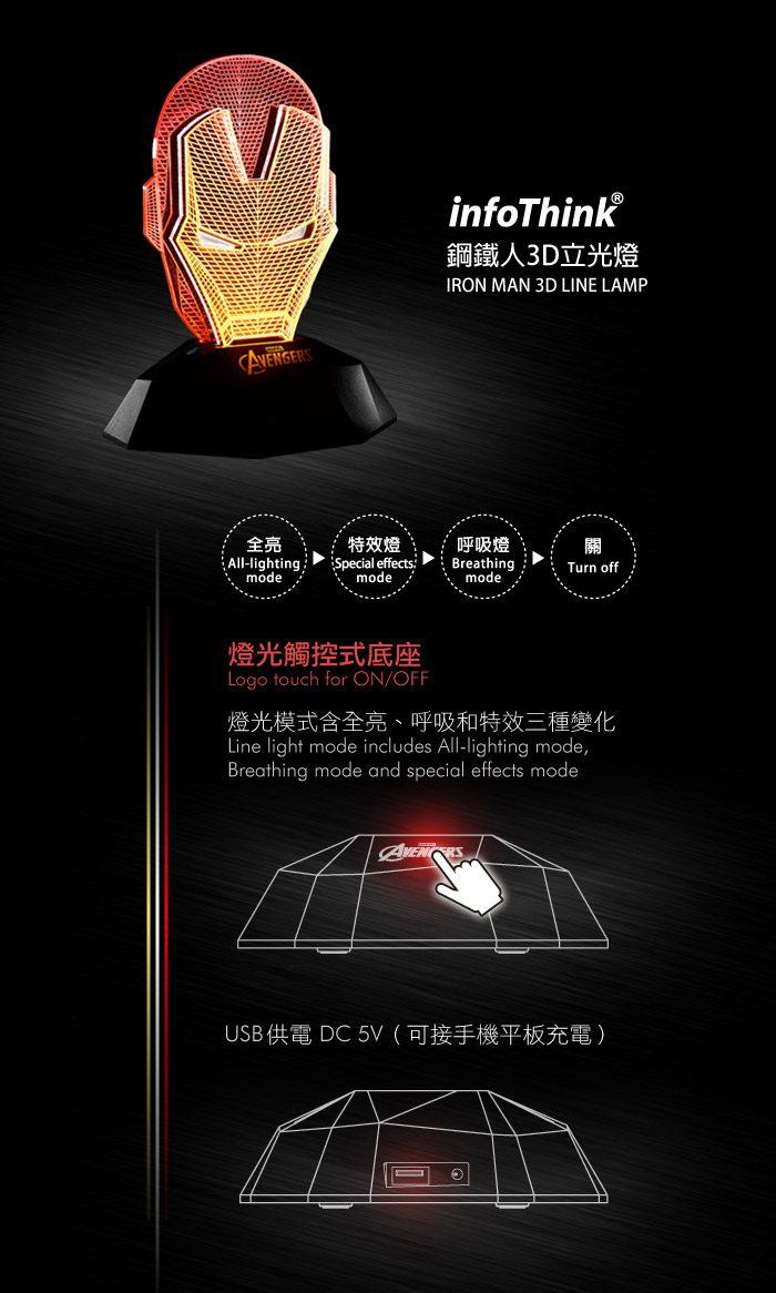(複製)InfoThink|雷神鎚3D立光燈
