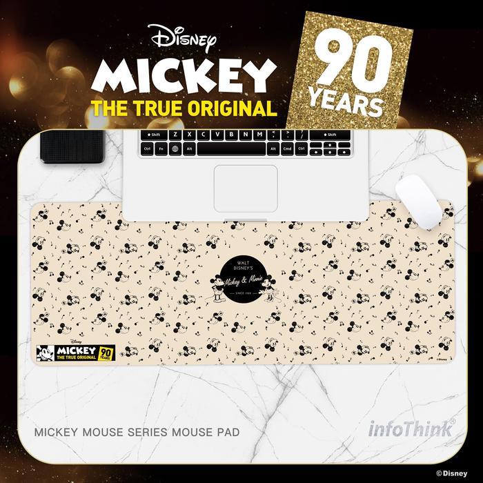 (複製)InfoThink|米奇系列滑鼠墊/桌墊(90周年紀念款)-情侶