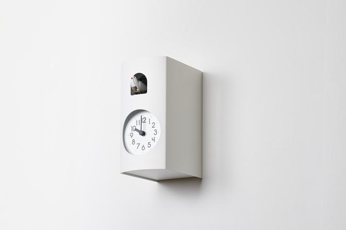 (複製)Lemnos|布穀鳥桌鐘-灰色