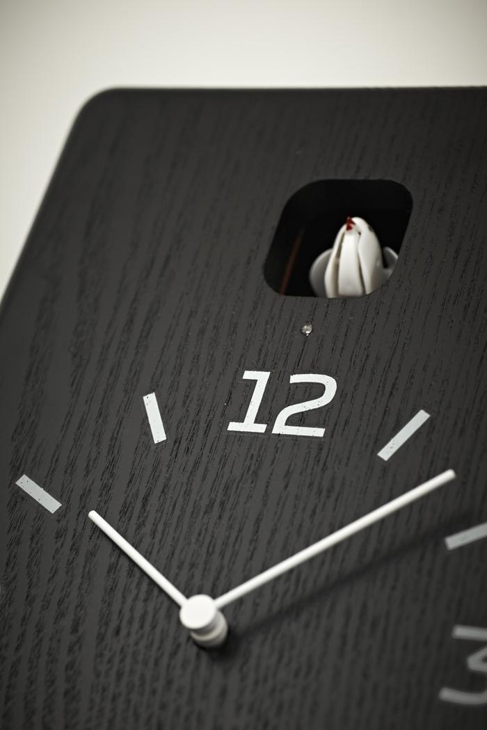 (複製)Lemnos|布穀鳥桌鐘-深褐色