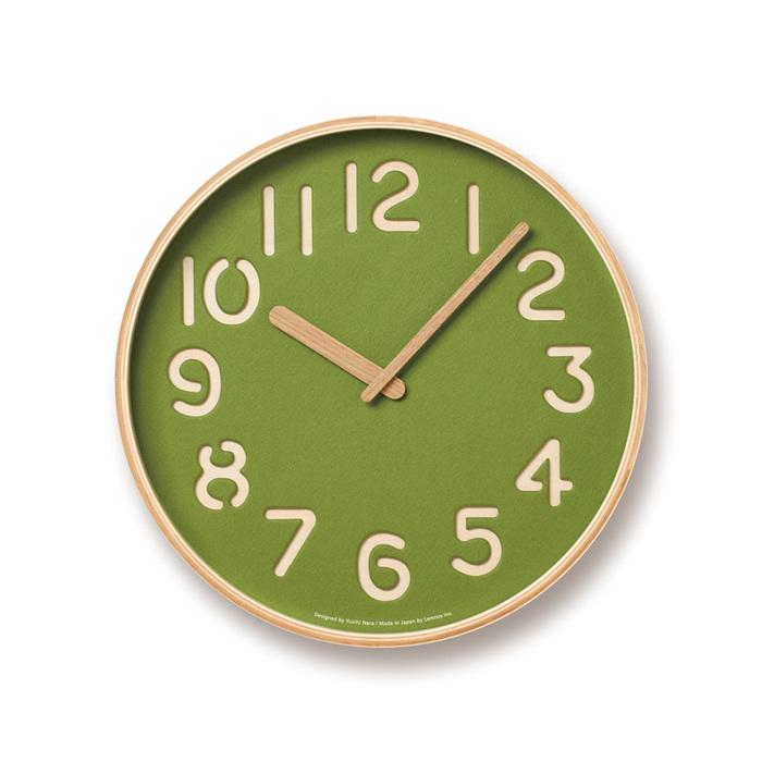 (複製)Lemnos|珪藻土時鐘-白色