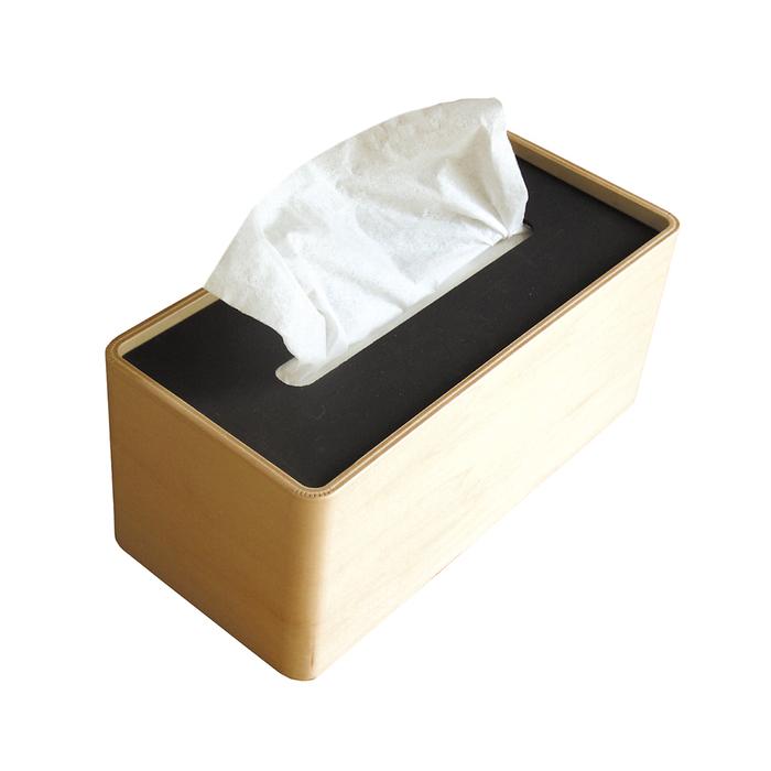 (複製)Lemnos|木質面紙盒-白色