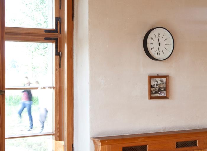 (複製)Lemnos|點針時鐘數字款-白色