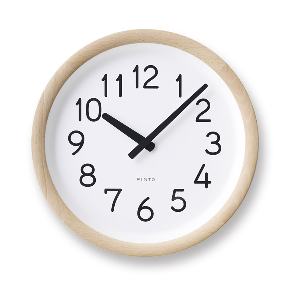 Lemnos|美好的一天時鐘-原木