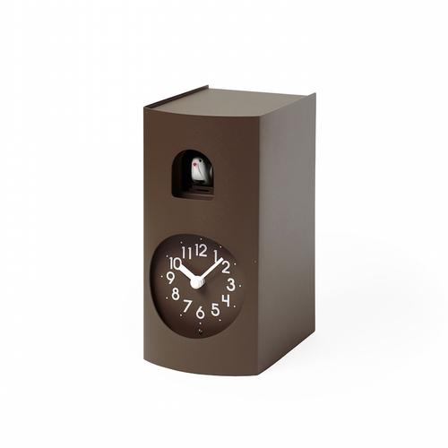 Lemnos|布穀鳥桌鐘-深褐色