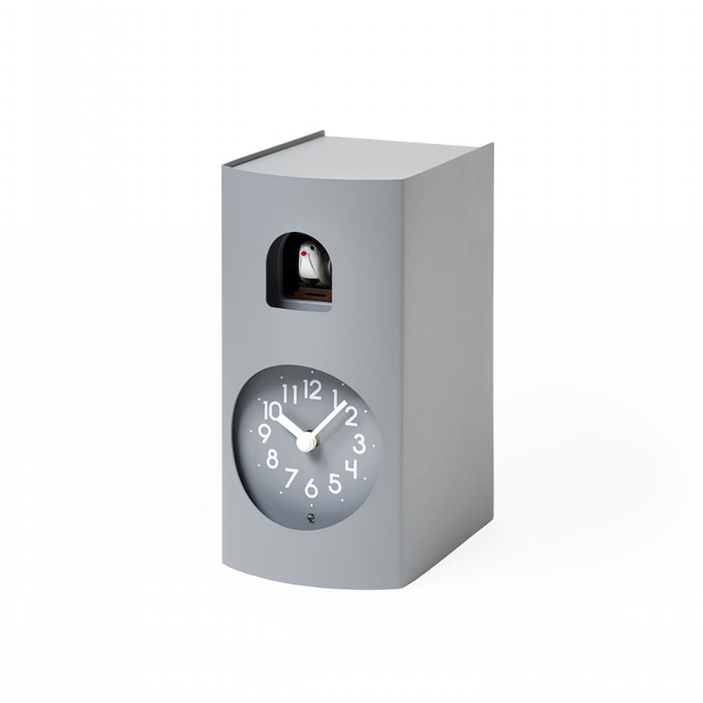 Lemnos|布穀鳥桌鐘-灰色