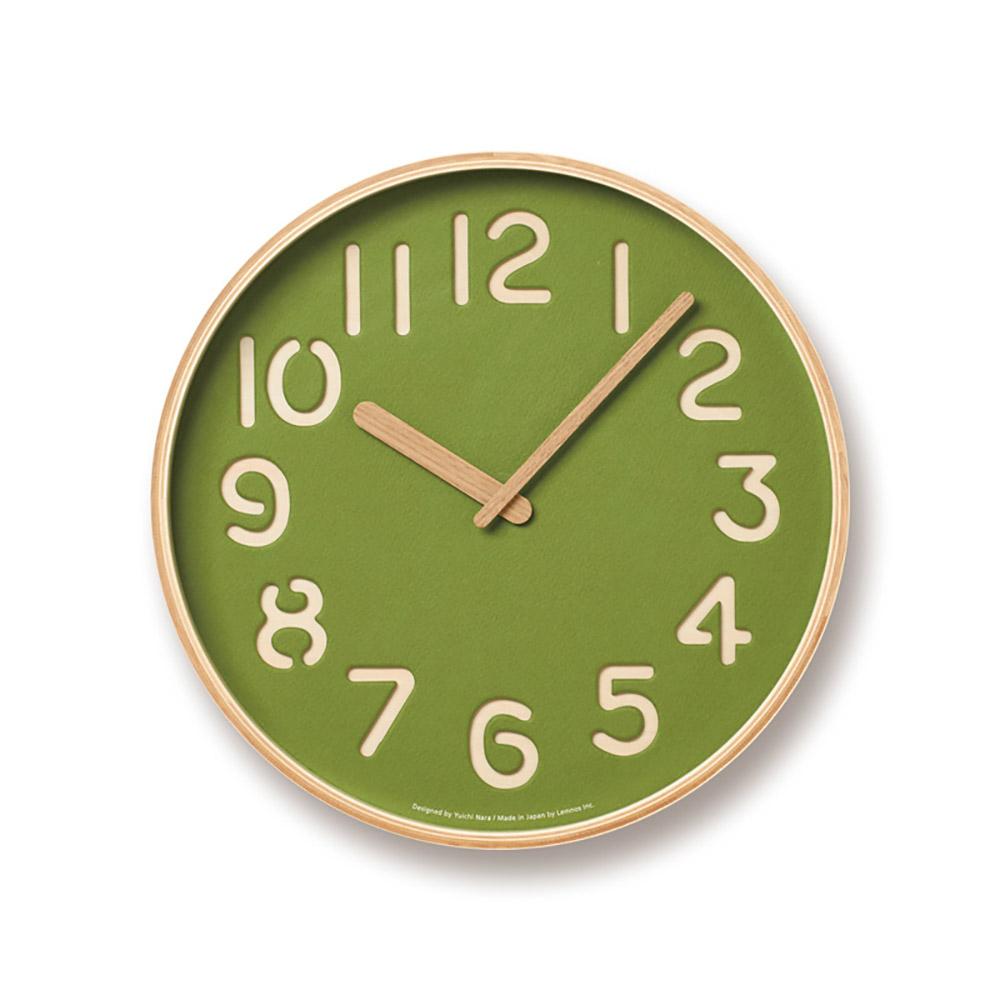Lemnos|美人魚紙掛鐘-綠色