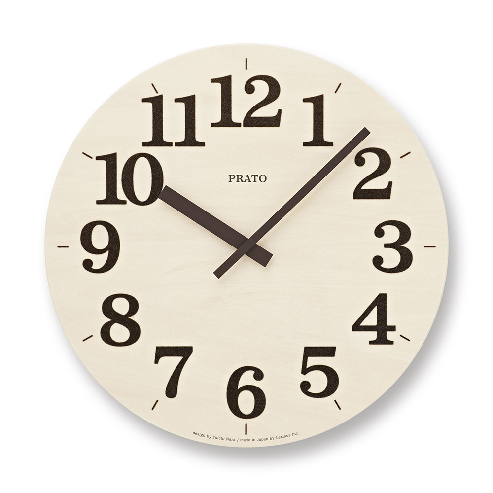Lemnos|草皮時鐘-深褐色