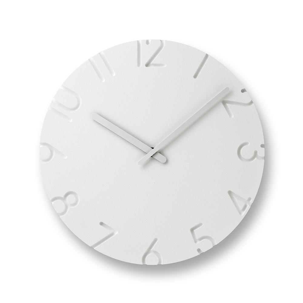 Lemnos|雕刻時鐘-數字款(大)