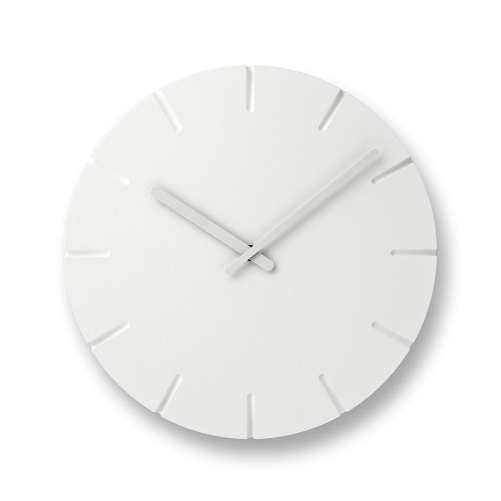 Lemnos 雕刻時鐘-線條款(大)