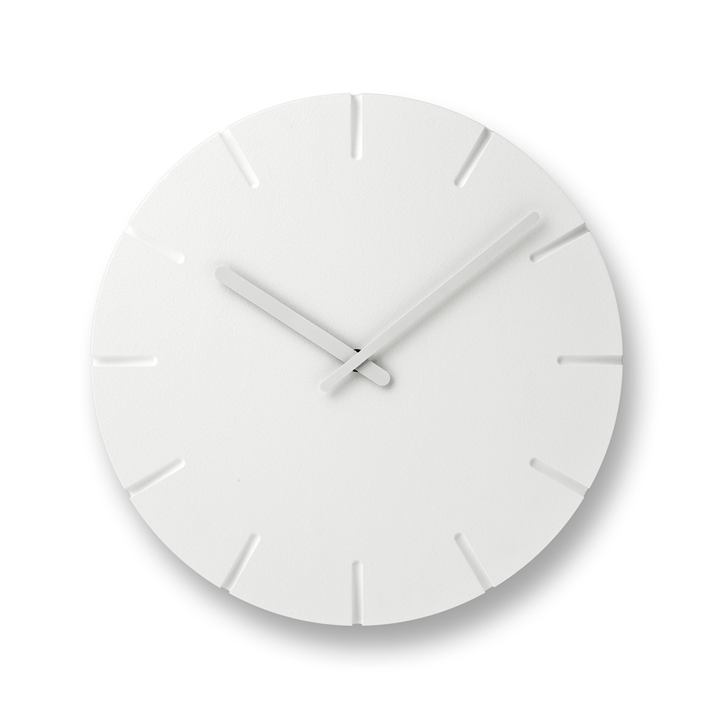 Lemnos|雕刻時鐘-線條款(大)