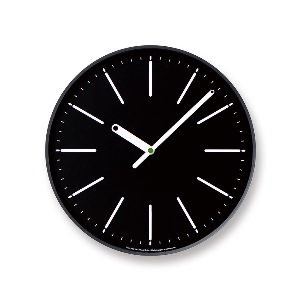 Lemnos|點針時鐘線條款-黑色