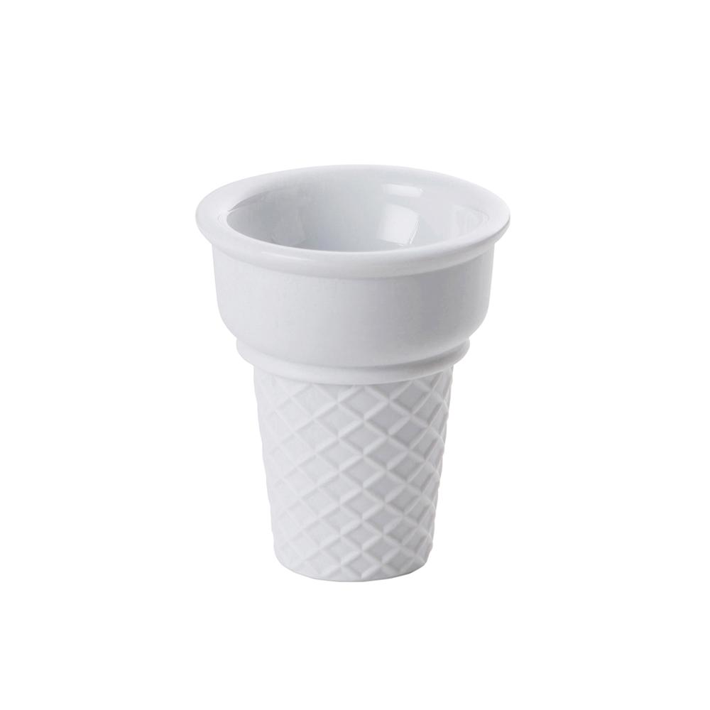 Lemnos|15.o% No.04 caramel 甜筒杯-白色