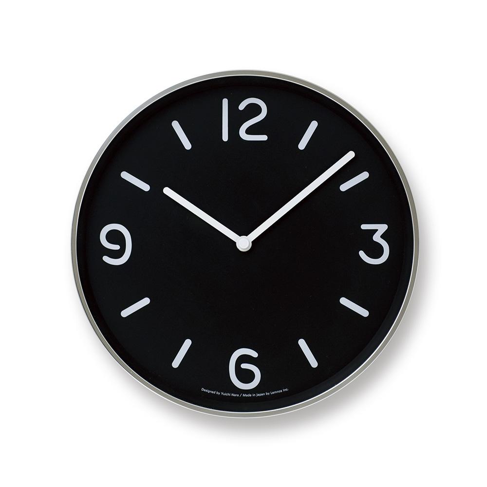 Lemnos|黑白純粹時鐘-黑色