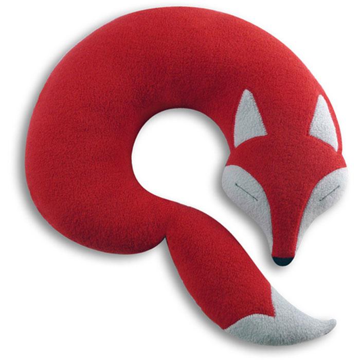 (複製)德國萊思綺Leschi 旅行枕頭/辦公室,教室午休枕頭(狐狸造型-咖啡色)