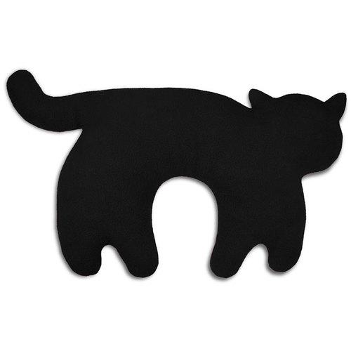 德國萊思綺Leschi 旅行枕頭/辦公室,教室午休枕頭(貓造型-黑色)