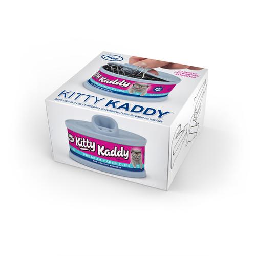Fred & Friends   Kitty Kaddy  貓罐頭迴紋針