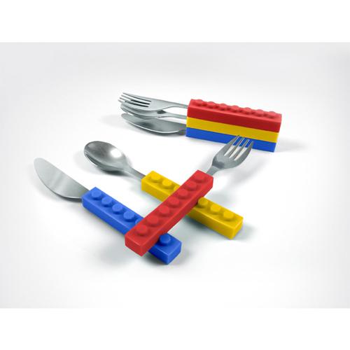 Fred & Friends | 積木堆堆樂 (刀~叉~湯匙三合一組)