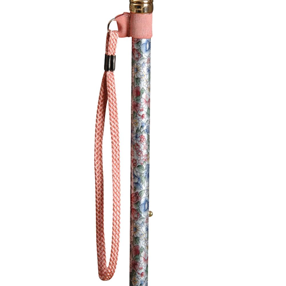 英國Classic Canes│手腕環扣繩 - 粉紅色