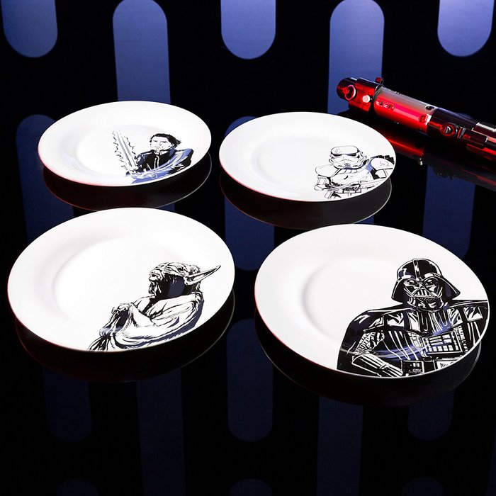(複製)Star Wars | 星際大戰系列陶瓷碗 四入(黑武士、風暴兵、R2-D2、莉亞公主)