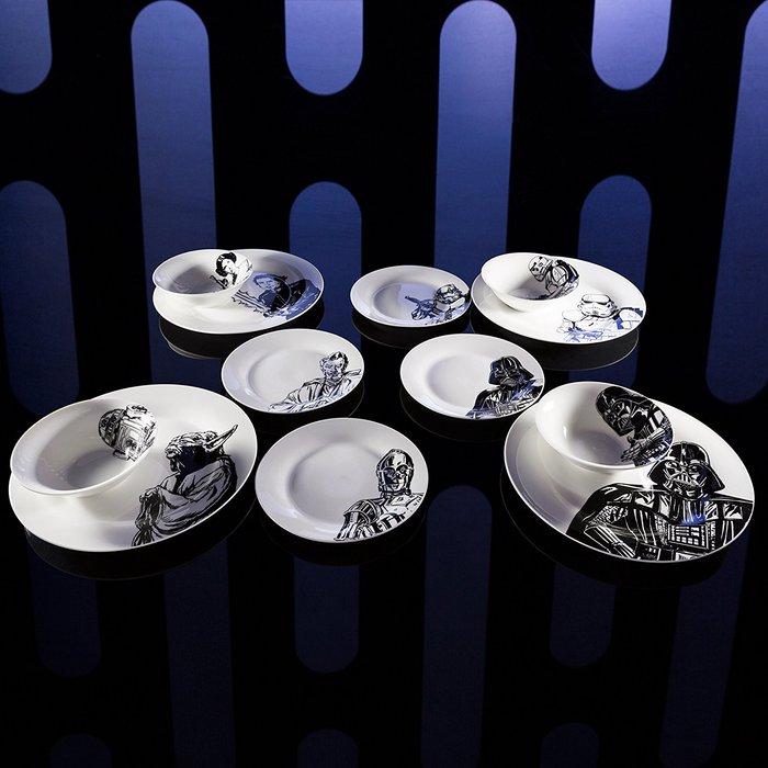 (複製)Star Wars   星際大戰系列玻璃杯16oz 四入(黑武士、風暴兵、尤達、C-3PO、R2-D2)