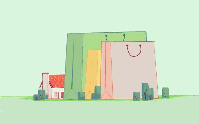 The Little Red House | 美國手工抱枕-轉頭虎斑貓